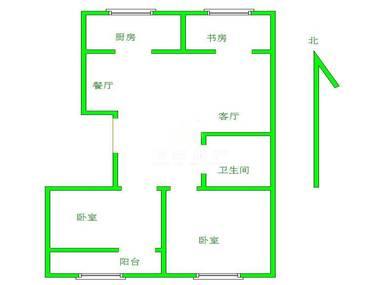 济南北湖房屋结构图