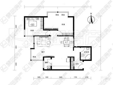 带拐角的房子设计图