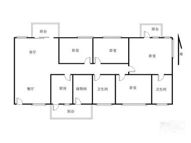 面积:141平,精装修,标准4房2厅,户型方正,客厅出阳台,南北通透,花园