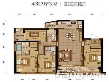二手房房源详情             该房屋为于渝中半岛融创白象街,  户型4