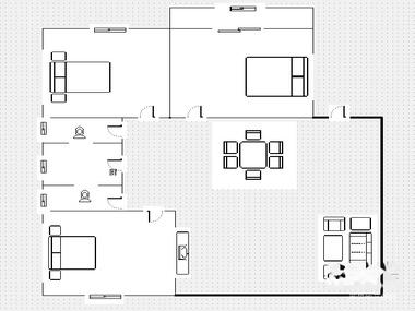 户型 户型图 平面图 380_285