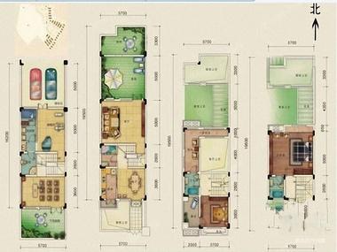 小区单层平面设计图
