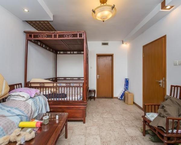 富泉花园南北通透精装修一二层复式送阳光房和80平小院-室内图-1