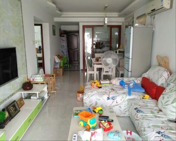 侨苑高层两房,自住装修,户型方正-室内图-1
