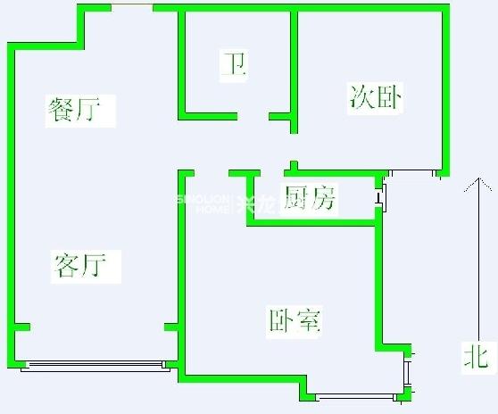 森林逸城104平米-室内图-1