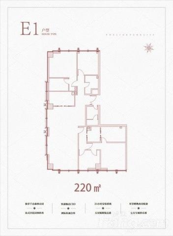 近两大地铁站 精装不限购 林肯公园 亦庄高端公寓 公园地产-室内图-1