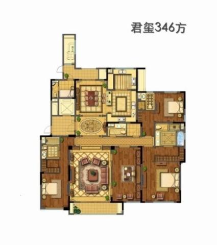 白马公寓  武林外滩 绿城兰园   景观房 九龙仓-室内图-2