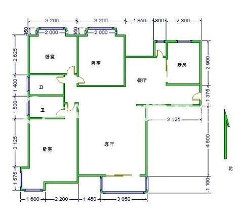 急售 欧景园 精装三室 南北通透 明厨明卫 送地下室-室内图-1
