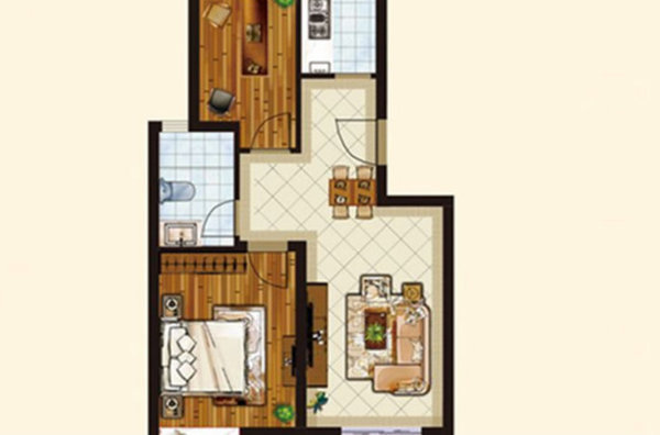 地铁19号线 真正的养老的房子 配套成熟 环境好 空间大-室内图-1
