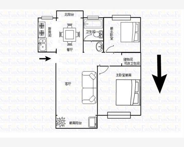 看房有钥匙 11号线安亭地铁口 BU限购 精装小户型 急售-室内图-1