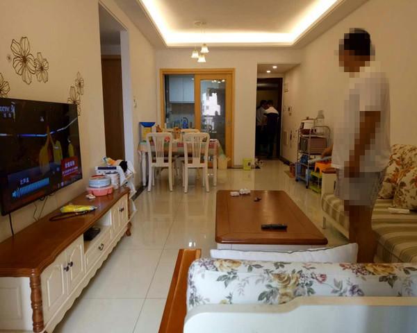 珠江郦城 精装小三房 带家具家电 不靠铁路 无噪音-室内图-1