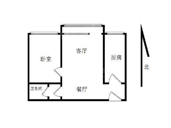 西直门 长河湾 高档社区 看房方便 业主诚心卖-室内图-1