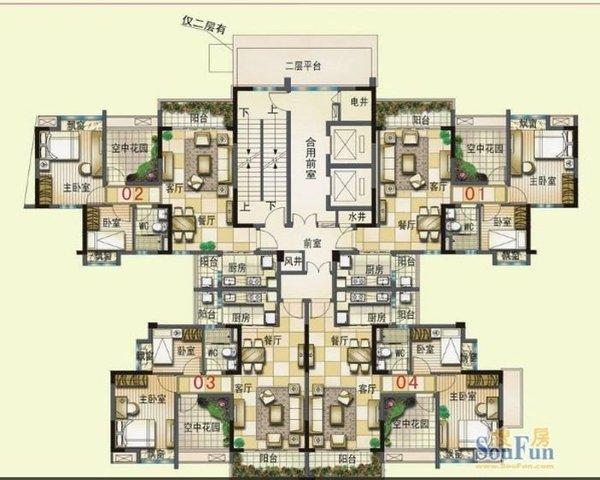 轻轨口大朗碧桂园精装三房  装修 送家私家电-室内图-1
