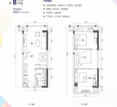 火爆常平绿地大都会精装复试公寓一层送一层送智能家电-室内图-1
