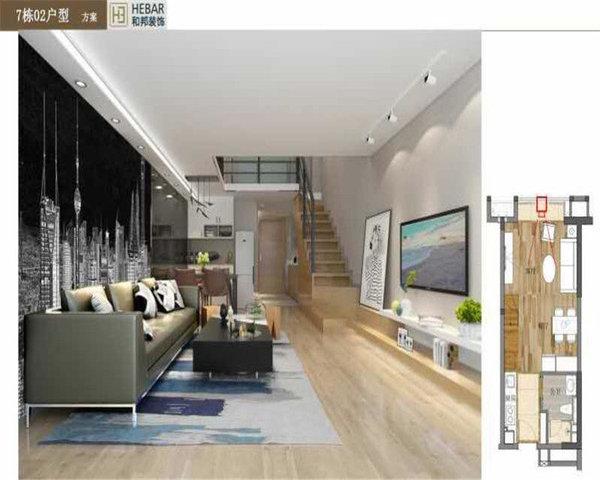 绿地大都会精装复式双层空间利用合理有创意限时低首付-室内图-9