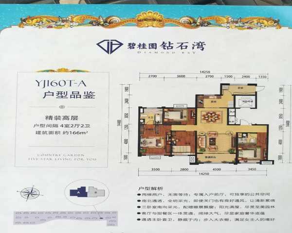 邢台碧桂园 首付两成16万买三室 带装修-室内图-2