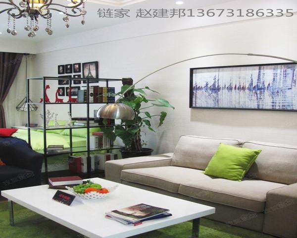 新华区 锦地SOHO 54所对面 带装修现房一室 随时看房-室内图-1