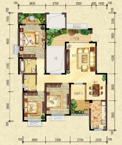 4室230万元真的很棒-室内图-1