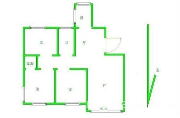 麒麟锦城 东方红郡天赋广场 商业旁-室内图-1