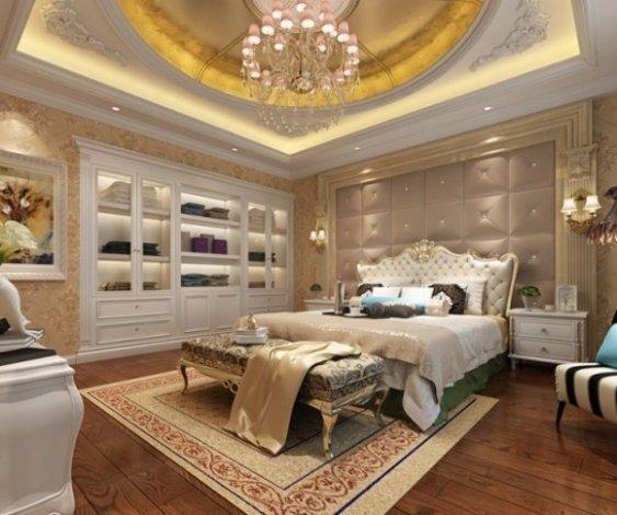 金臣顶配别墅欧式建筑私人花园绅士生活-室内图-7