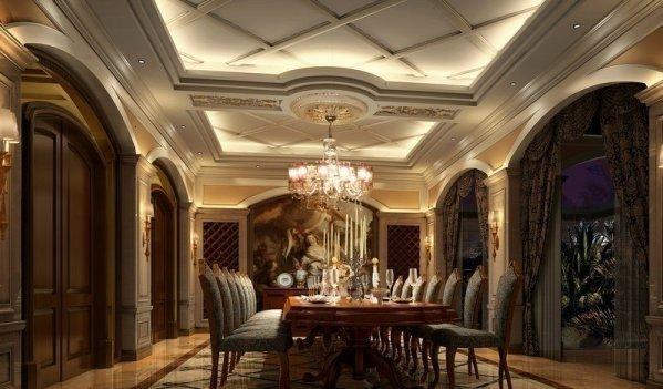 金臣顶配别墅欧式建筑私人花园绅士生活-室内图-10