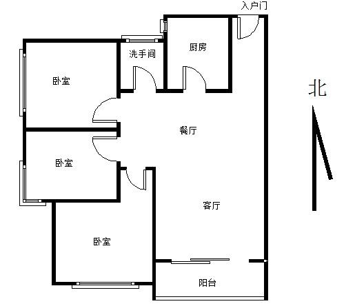 省府 桂花坪夏威夷碧水春城 电梯三房 低于市场价-室内图-1