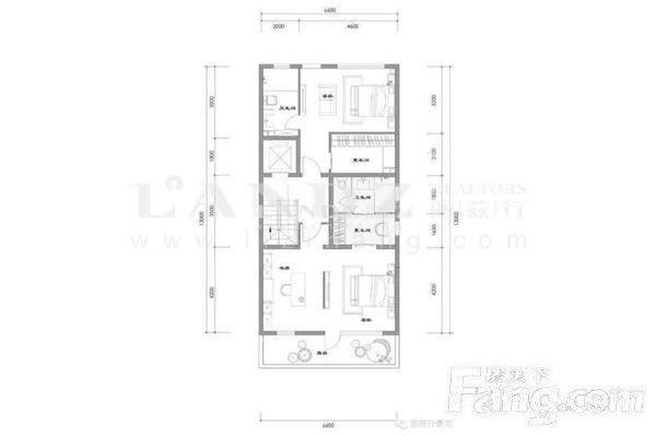 新出新房联排东边户南北双院随时看房 低于市场700万-室内图-1