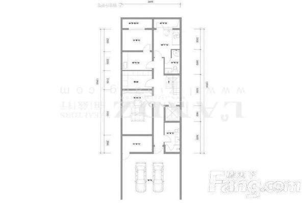 新出新房联排东边户南北双院随时看房 低于市场700万-室内图-2