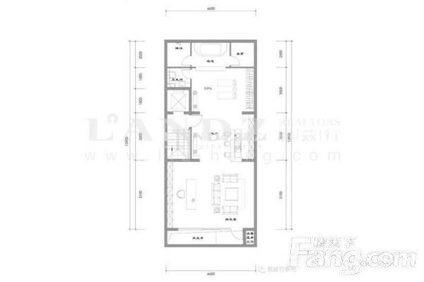 新出新房联排东边户南北双院随时看房 低于市场700万-室内图-3