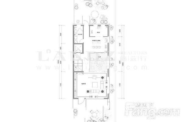 新出新房联排东边户南北双院随时看房 低于市场700万-室内图-5
