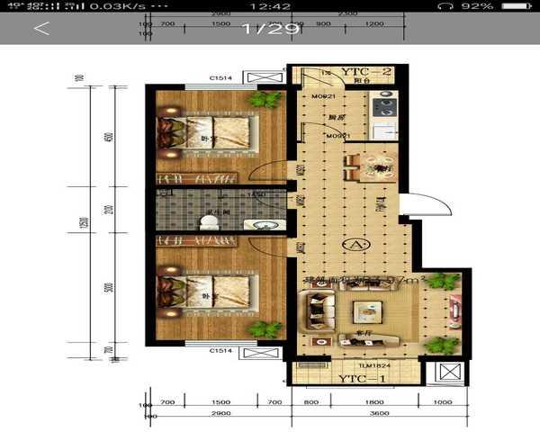 雄 胺新区霸州一手现房 均价3500 双高速 高铁新城区-室内图-1
