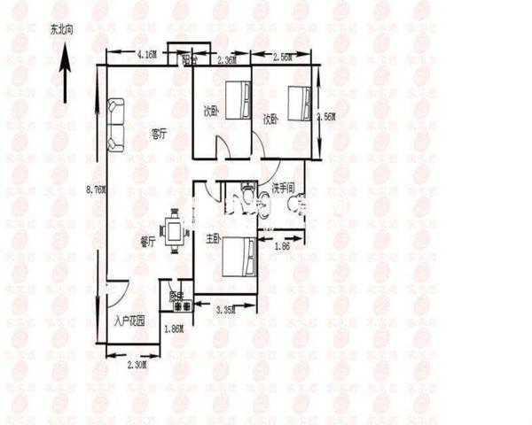 龙华银泉花园小一房47平急卖-室内图-1