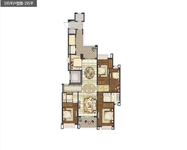 江浦 雅居乐滨江国际  紧靠河西 江景现房出售  一中-室内图-1