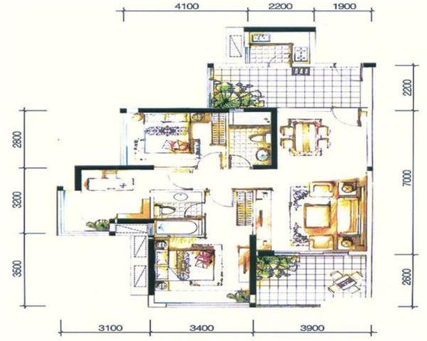 出则城邦入则城邦享受十万平方米的风情商业街-室内图-1
